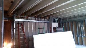 Interior Office Framing