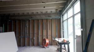 Interior Office Framing 2