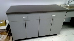 Cut Hut - UT Austin - Sink Cabinet 1